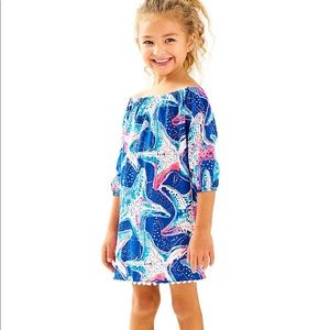 Lilly Pulitzer Mini Enna Starfish Dress Size S